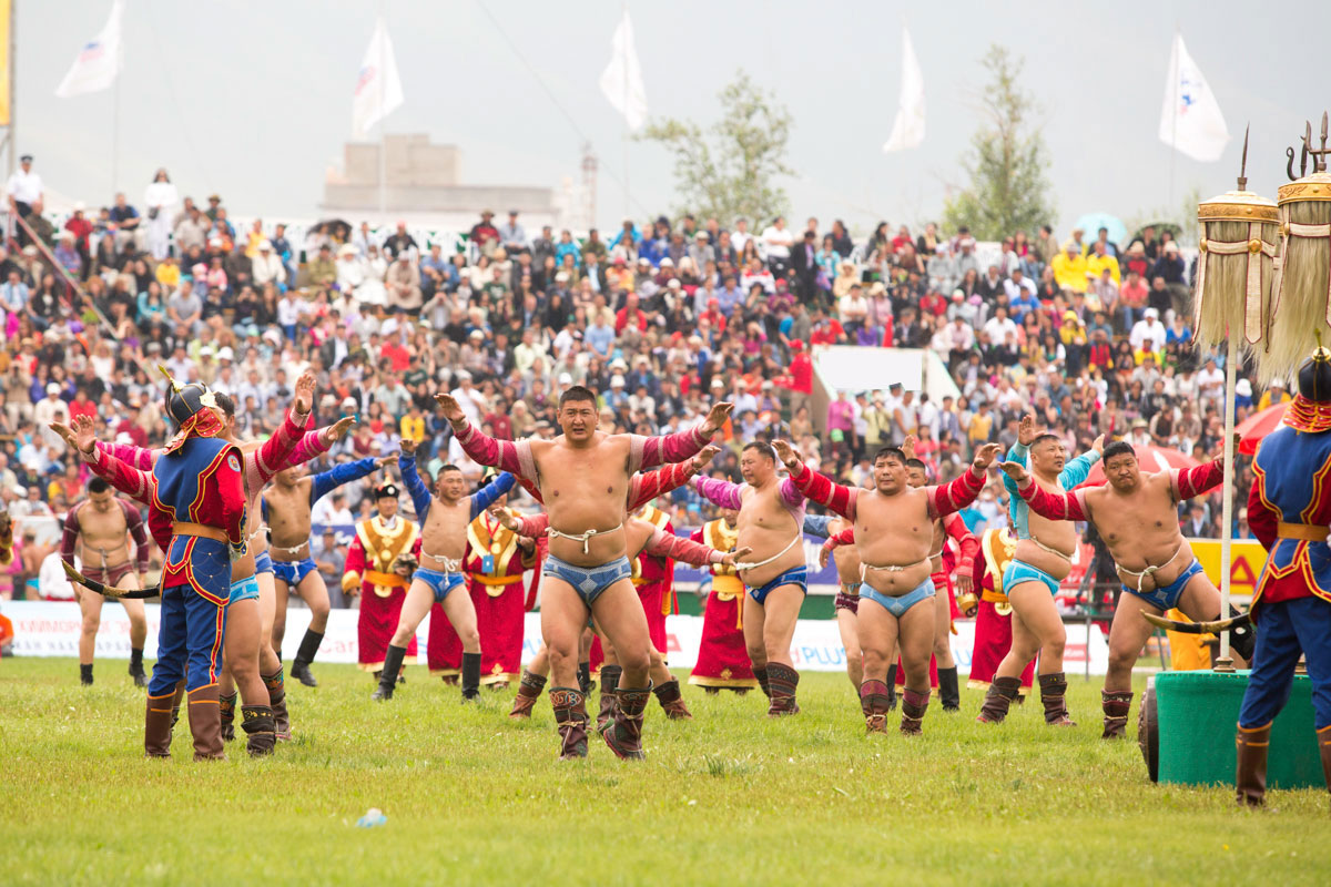 Mongolia  Weather during the Naadam Festival